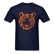T-Shirts ~ Men's T-Shirt ~ Tiger Head