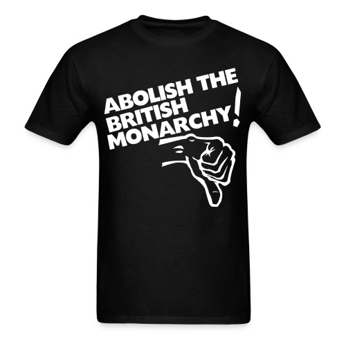 abolish_the_british_monarchy - Men's T-Shirt