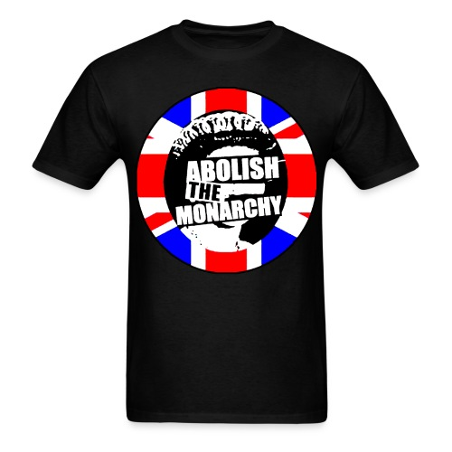 abolish_the_monarchy_2 - Men's T-Shirt