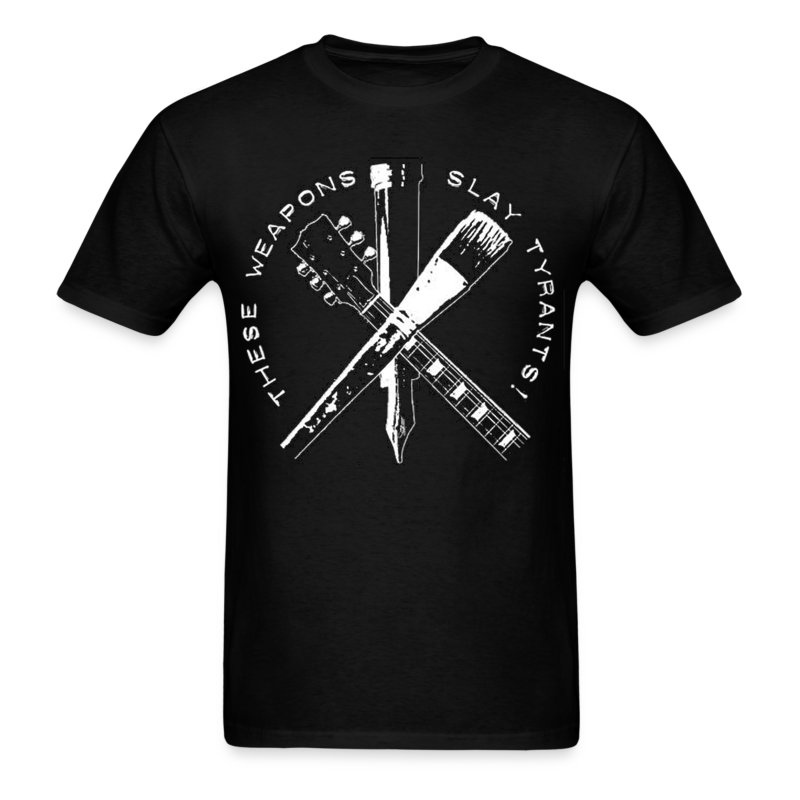 these_weapons_slay_tyrants - Men's T-Shirt