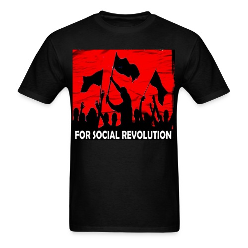 for_social_revolution - Men's T-Shirt