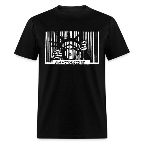 liberty_codebar - Men's T-Shirt