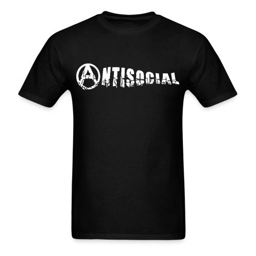antisocial - Men's T-Shirt