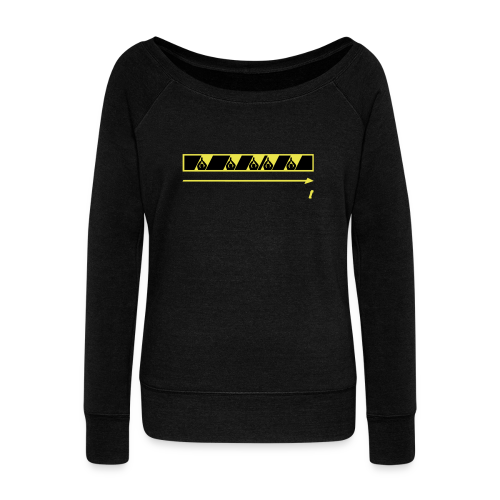 Trespassing Beat - Women's Wideneck Sweatshirt