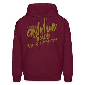 [CNB] CNB & Boice (Metallic Gold) - Men's Hoodie