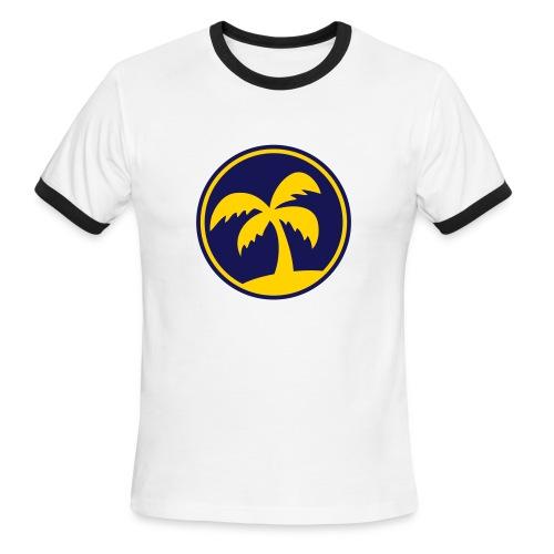 palmera 2 tonos - Men's Ringer T-Shirt