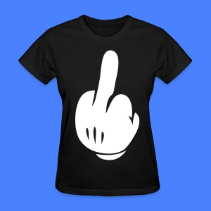 Middle Finger Women's T-Shirts - stayflyclothing.com - Women's T-Shirt