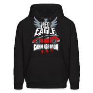 Hoodies ~ Men's Hoodie ~ Red Eagle