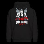 Hoodies ~ Men's Hoodie ~ Red Eagle