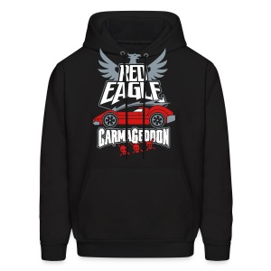 Red Eagle - Men's Hoodie
