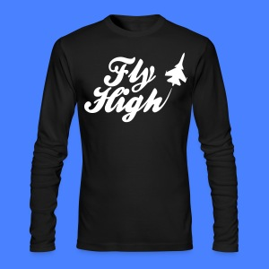 Fly HIgh Long Sleeve Shirts - stayflyclothing.com - Men's Long Sleeve T-Shirt by Next Level