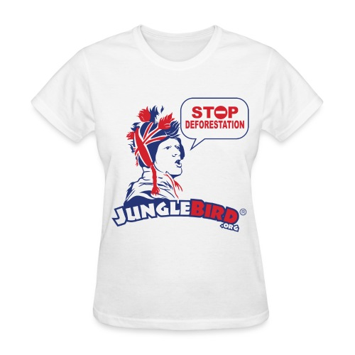 Jungle Bird Stop Deforestation  - Women's T-Shirt