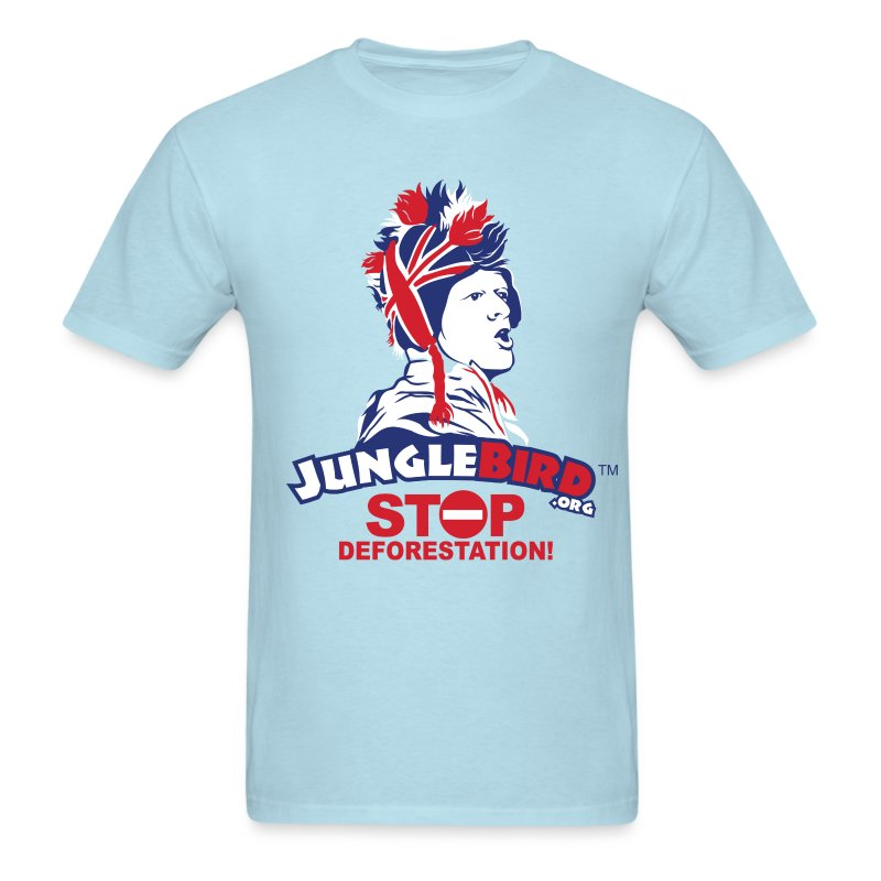 Jungle Bird Stop Deforestation  - Men's T-Shirt