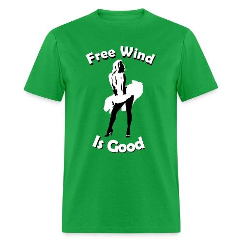 Free Wind Is Good - Men's T-Shirt