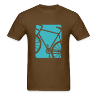 T-Shirts ~ Men's T-Shirt ~ Spokes and Ink Bicycle Design