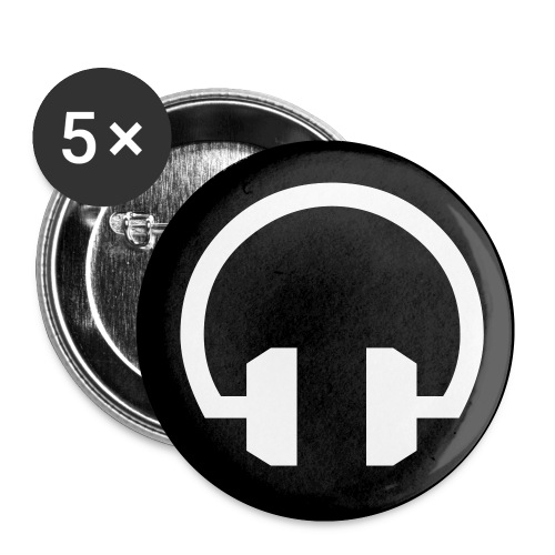 Head Phone Button - Small Buttons