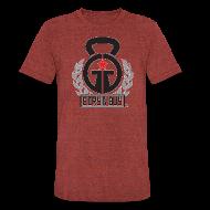 T-Shirts ~ Unisex Tri-Blend T-Shirt ~ Girya GUY American Apparel Vintage Style Shirt