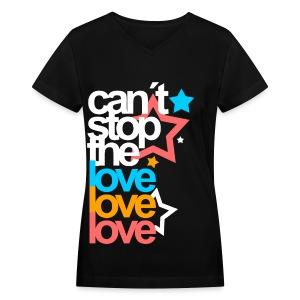 [EH] Love Love Love - Women's V-Neck T-Shirt