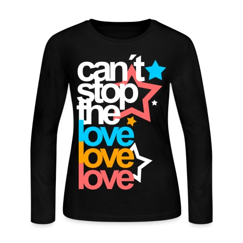 [EH] Love Love Love - Women's Long Sleeve Jersey T-Shirt