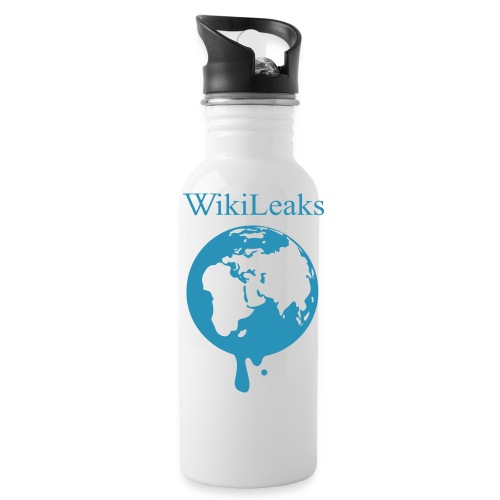 WikiLeaks Water Bottle - Water Bottle