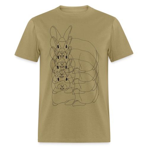 Multi-Bunny - Men's T-Shirt