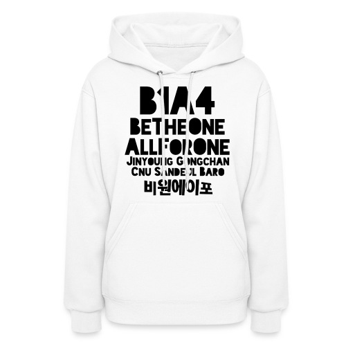 B1A4 (Be the One, All For One) - Women's Hoodie