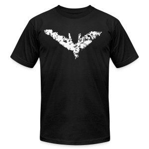 Chalk Bat (Men) - Men's T-Shirt by American Apparel