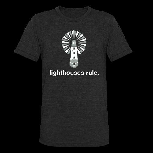 Lighthouses Rule Triblend Tee - Unisex Tri-Blend T-Shirt