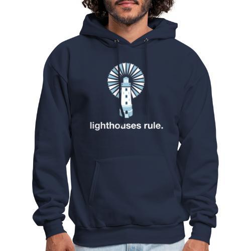 Lighthouses Rule Hoodie - Men's Hoodie