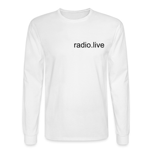 white long sleeved - Men's Long Sleeve T-Shirt
