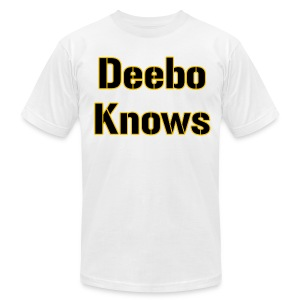 Deebo Knows American - Men's T-Shirt by American Apparel