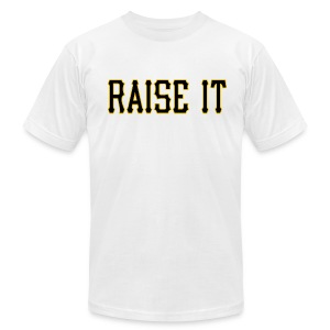 Raise It American - Men's T-Shirt by American Apparel