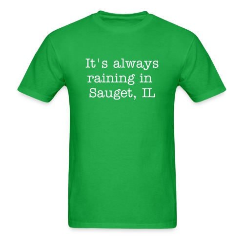 Raining in Illinois - Men's T-Shirt