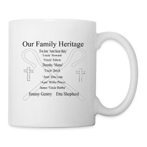 Family Heritage Coffee Cup - Coffee/Tea Mug
