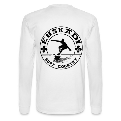 Euskadi surf country - Men's Long Sleeve T-Shirt