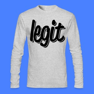 Legit Long Sleeve Shirts - stayflyclothing.com - Men's Long Sleeve T-Shirt by Next Level