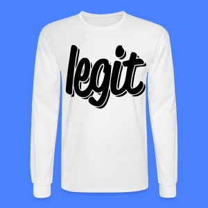 Legit Long Sleeve Shirts - stayflyclothing.com - Men's Long Sleeve T-Shirt