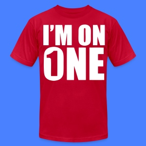 I'm On One T-Shirts - stayflyclothing.com - Men's T-Shirt by American Apparel