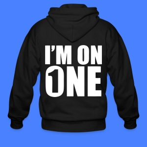 I'm On One Zip Hoodies/Jackets - stayflyclothing.com - Men's Zip Hoodie