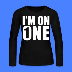 I'm On One Long Sleeve Shirts - stayflyclothing.com - Women's Long Sleeve Jersey T-Shirt