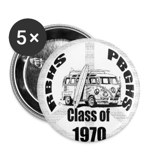 Class of 70 - Buttons - Large Buttons