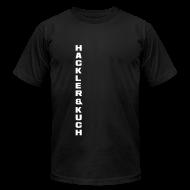 T-Shirts ~ Men's T-Shirt by American Apparel ~ Classic shoulder maneuver