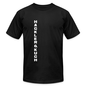 Classic shoulder maneuver - Men's T-Shirt by American Apparel