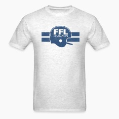 FANTASY FOOTBALL LEAGUE CHAMPION T-Shirts