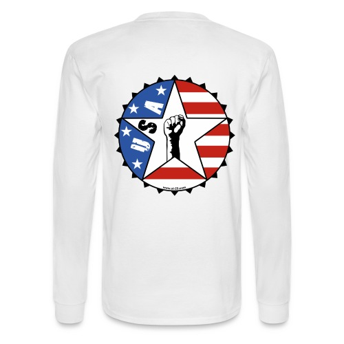 USA shirt - Men's Long Sleeve T-Shirt