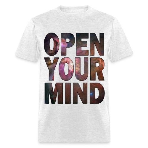 open mind - Men's T-Shirt
