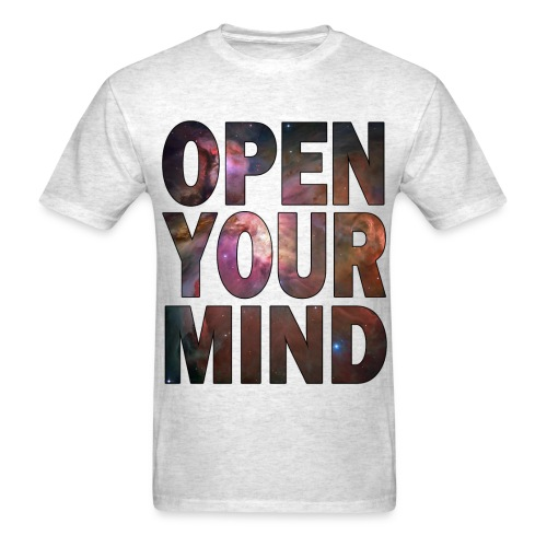 open mind - Men's T-Shirt