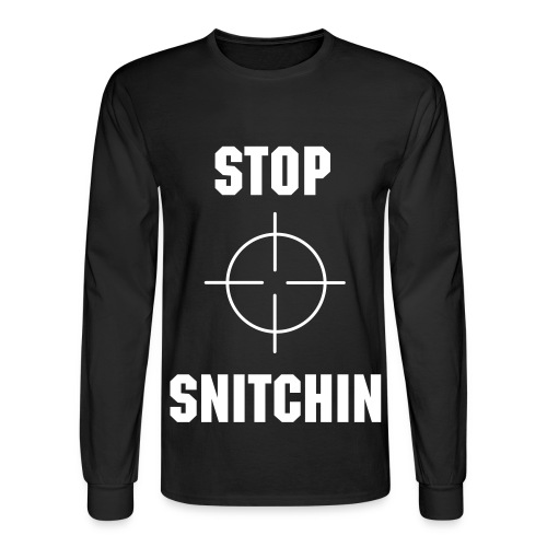 STOP SNITCHIN MISTA MATT  - Men's Long Sleeve T-Shirt
