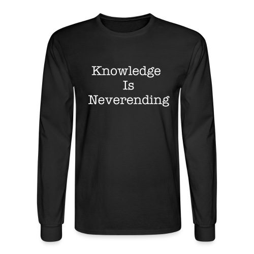 Knowledge T - Men's Long Sleeve T-Shirt