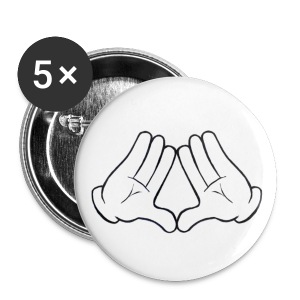 Throw Ya Diamonds Button  - Small Buttons